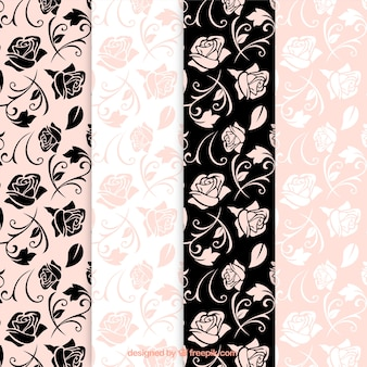 Roses patterns
