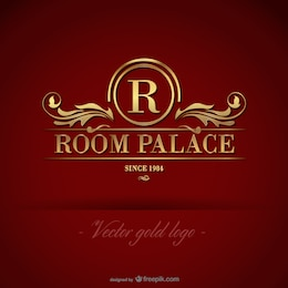 Royal golden logo free download
