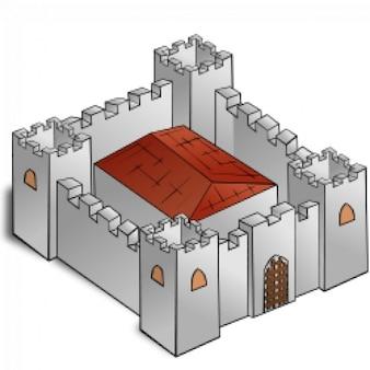 RPG map symbols: Fortress