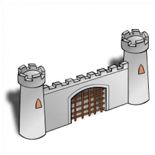RPG map symbols: Gate