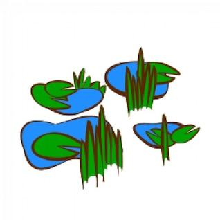 RPG map symbols: Marsh
