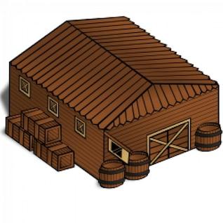 RPG map symbols: Warehouse