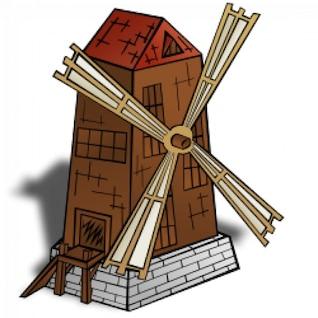 RPG map symbols: Windmill