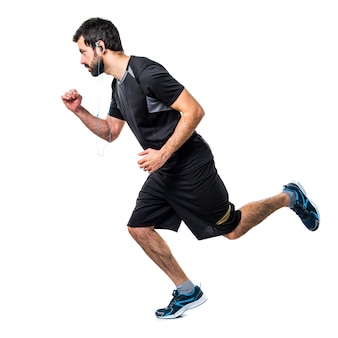 Running exercise slim fast muscular