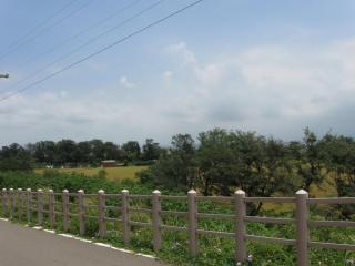 シーン、緑の農村