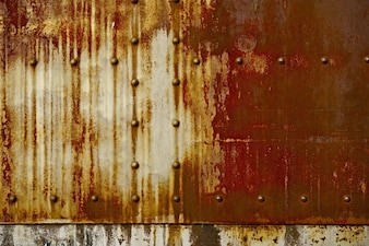 Rust on Metal Background