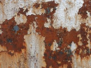 rusted metal  metal  rust