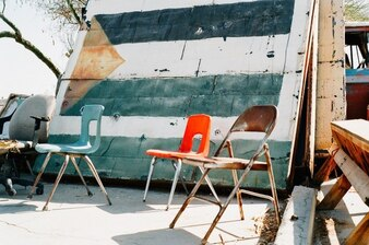 Rusty chairs