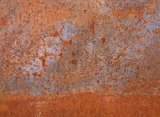 rusty metal texture  steel  surface