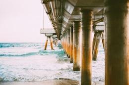 Rusty pillars