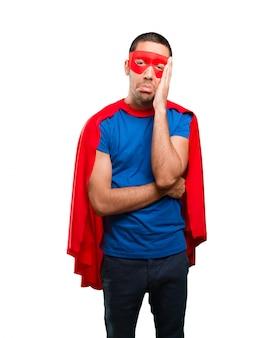 Печальный супергерой
