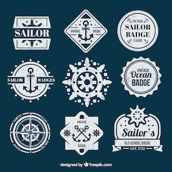 Sailor badges collection
