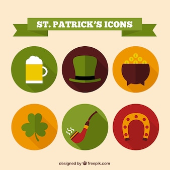 Saint Patricks icons