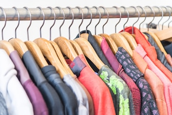 Sale shelf apparel shirt casual