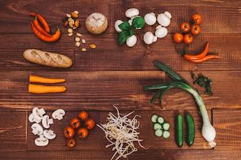 Salud foodie健康なおいしい食べ物