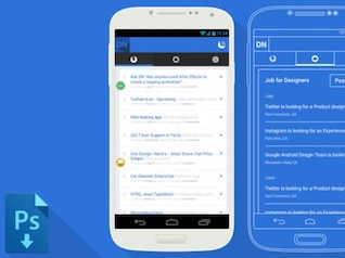 Samsung Galaxy S4 Device Mockup & Wireframe