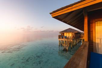 Sand coconut sunrise hotel swimming