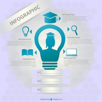 School infographic design