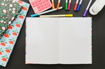 School materials and template