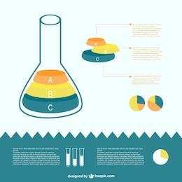 Science tube diagram vector