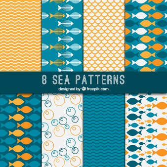Sea patterns
