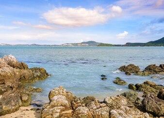 Sea rock in Samui, Thailand