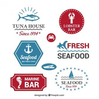 Seafood badges