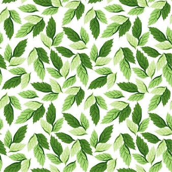 seamless leaf pattern vector background