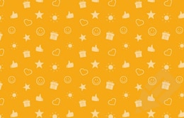 Seamless patterns with gift icons