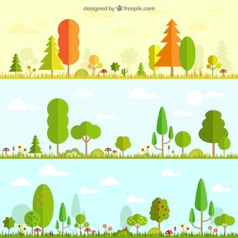 季節の自然