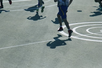 Shadows on the court