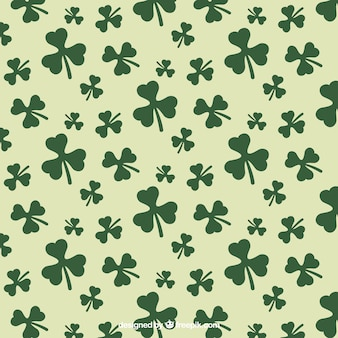 Shamrocks pattern