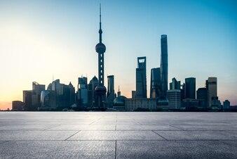 Shanghai, Pudong, high-rise building, modern city, China