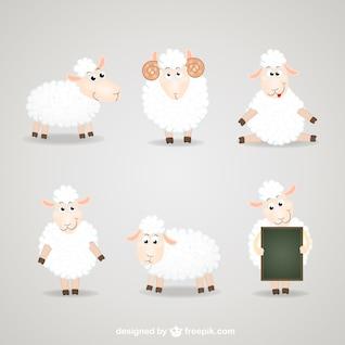 Sheep cartoon collection