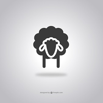 Sheep head icon