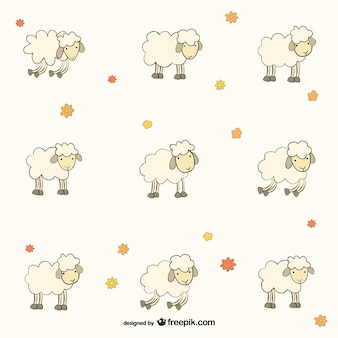 Sheep pattern