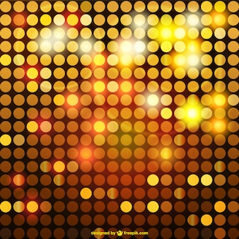 Shiny golden mosaic background