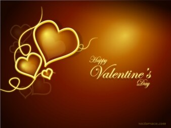 Shiny Maroon Valentines Day Background