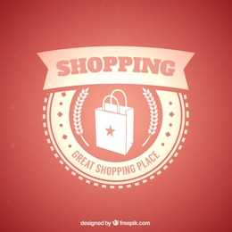 Shopping badge