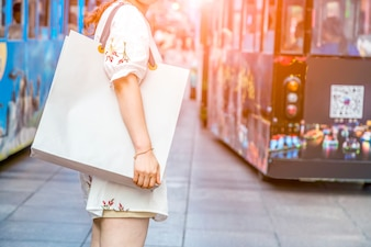 Shopping bags bags travel business consumption finance
