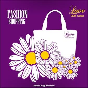Shopping season floral design