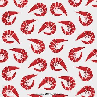 Shrimps pattern