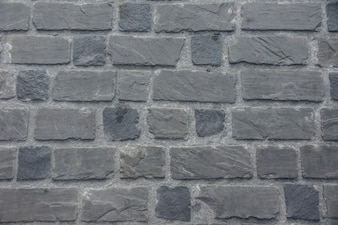Silver stone wall