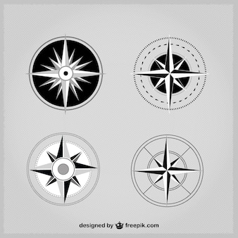 Simple compass pack