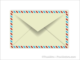 Single confidential envelope vector