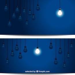 Single lightened bulb