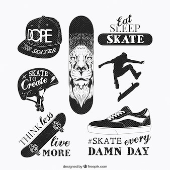 Skate elements