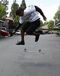 Skateboarder, sports