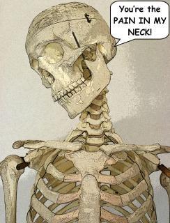 Skeleton, massage
