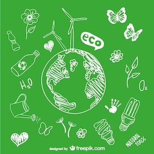 Sketch goobe ecology drawing